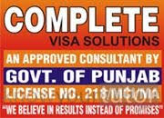 Complete Visa Solutions India Contact Information